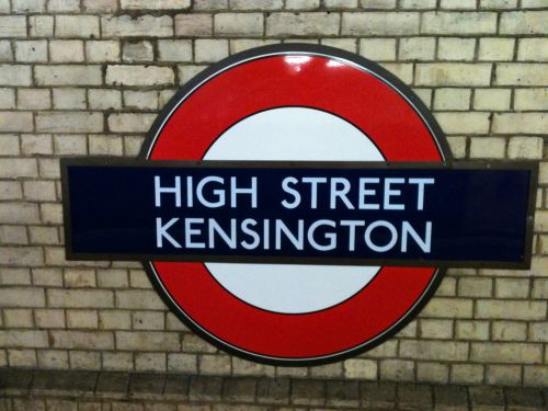 High Street Kensington Underground