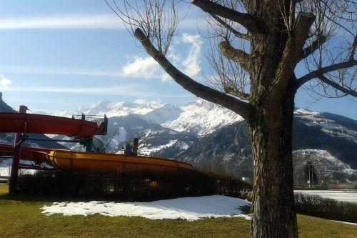 high tauern mountains snow