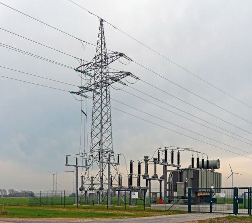 high voltage feed windstrom