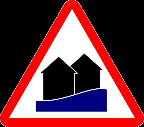 high water warning flood