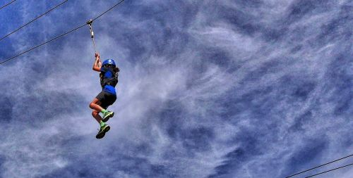 high wire brave girl english summer sky