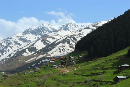 erzurum taurus mountains landscape