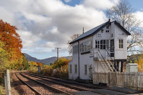 highland main line  railway  tracks