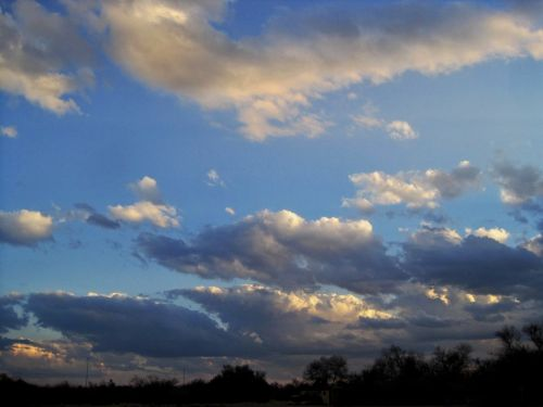 Highlighted Clouds