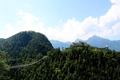 highline179  suspension bridge  austria