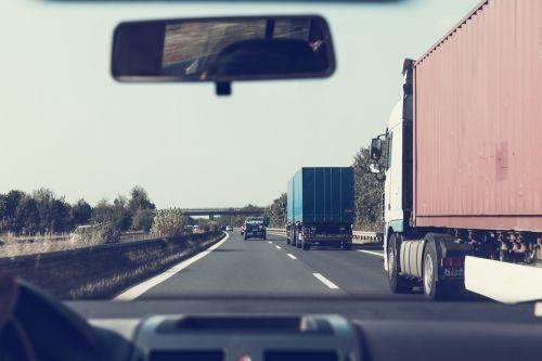 highway crash barriers vehicles