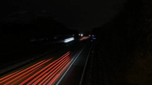 highway night light