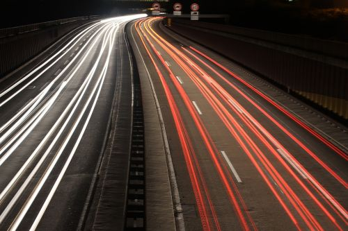 highway long exposure auto