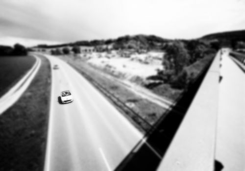 highway streets autos