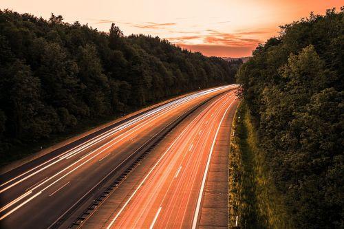 highway long-term beliechtung a45