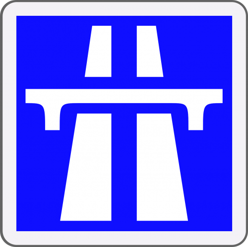 highway traffic sign road sign
