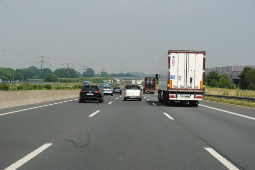 highway germany asphalt