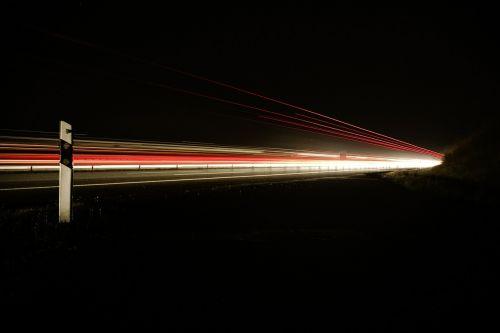 highway night dark