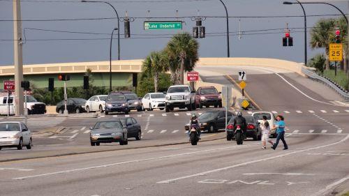 highway highway entrance cars