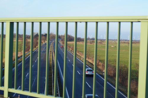 highway bridge railing autos