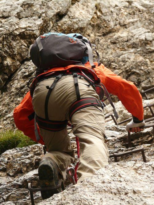 hike climb climbing
