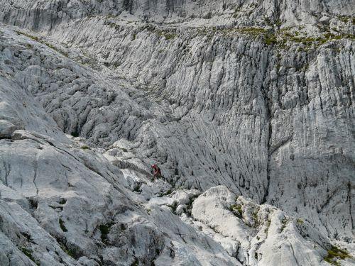 hike rock climbing