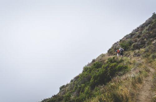 hike trail climb