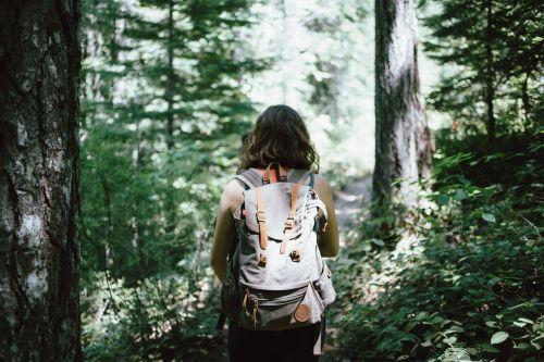 hiker backpacker hiking