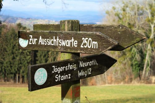 hiking trail directory