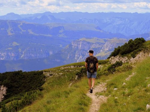 žygiai,vaikščioti,takas,kalnas,kraštovaizdis,ramybė,ramybė,gamta,kuprinė