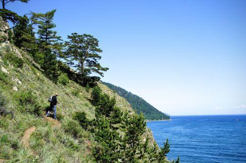 hiking baikal lake