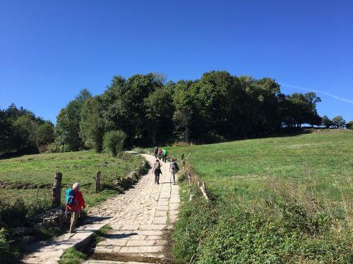 hiking make a pilgrimage pilgrimage
