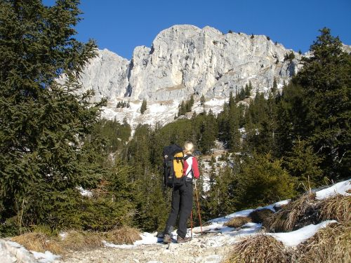 hiking mountains hochwiesler