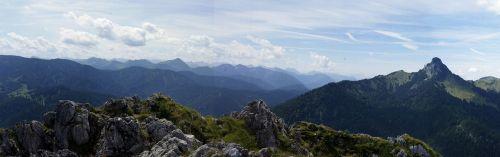 hiking mountain summit