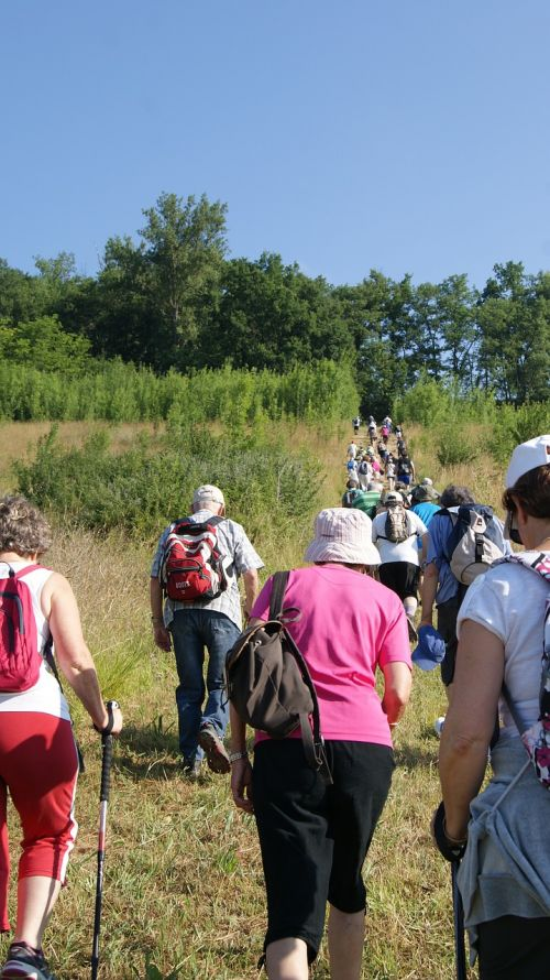 hiking hiker cluniac path