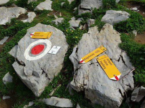hiking directory waymarks