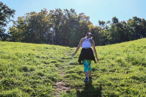 hiking adventure mountain
