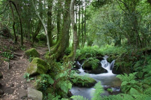 hiking landscape route da auga