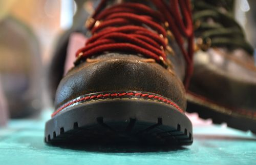 hiking shoes sole shoelace