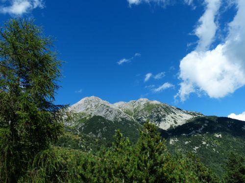 hiking tour bergtour mountains