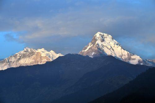 hill mountain annapurna