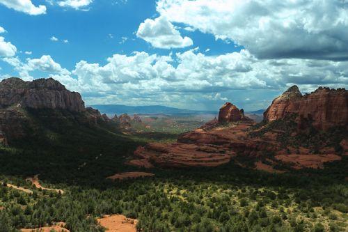 hill landscape nature