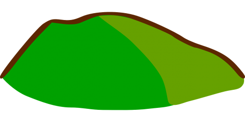 hill map landscape