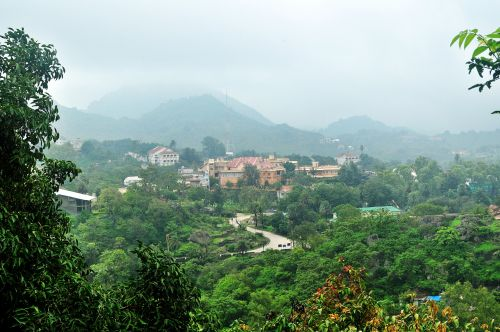 Hill Station In Monsoon