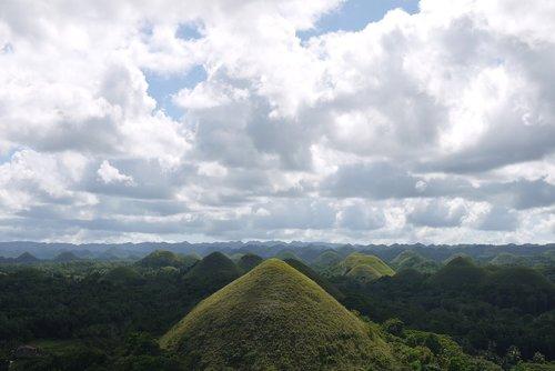 hills  chocolate hills  philippines