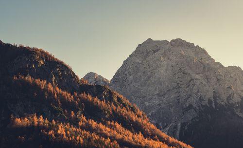hillside peak summit