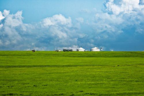 hilly gel meadow