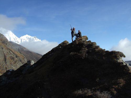 himalaya mountain tower