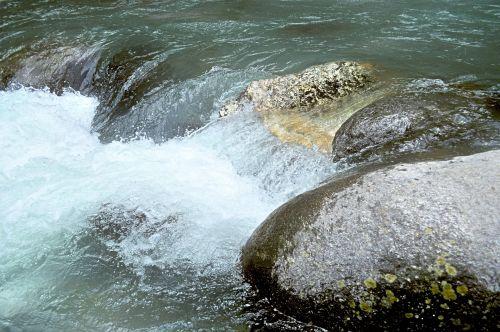 srautas, upė, upelis, himalajiečių, gamta, vanduo, miškas, akmenys, kraštovaizdis, Himalajų upelis 3