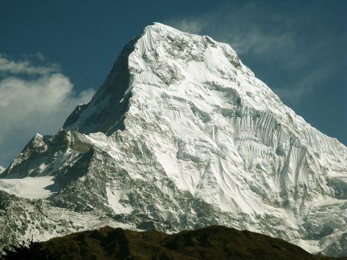 himalayas annapurna mountain