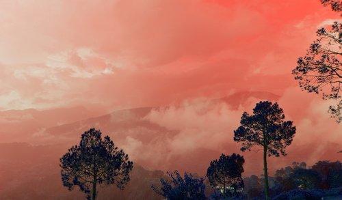 himalayas  nature  mountains