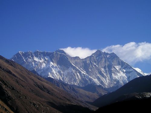 himalayas nepal mountain