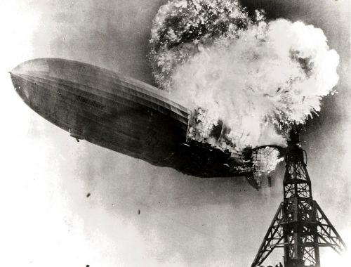 hindenburg disaster zeppelin