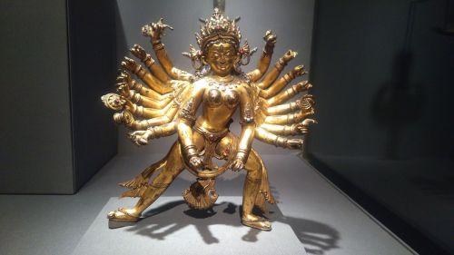hindu god gold