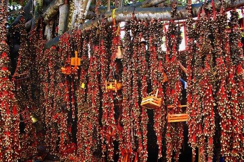 hindu temples  bells  hinduism